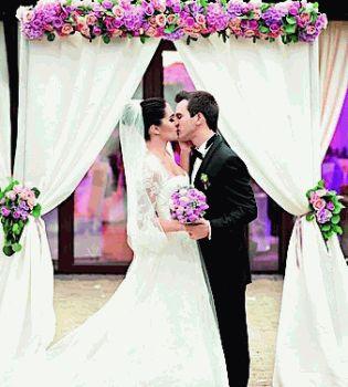 свадьбы 2013,свадьбы звезд,свадьба,лера кудрявцева и игорь макаров,Лера Кудрявцева и Игорь Макаров свадьба