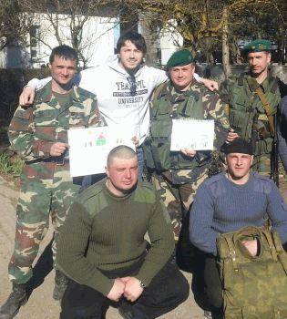 Сергей Притула,Крым,фото,фейсбук,военные в Крыму