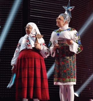 Верка Сердючка,Юлия Тимошенко,yuna 2014,церемония,премия