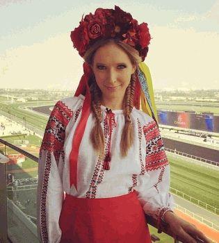 Катя Осадчая,туфли,фото