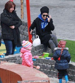 Ани Лорак,дочь,с дочерью,фото