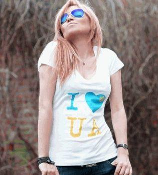 Lilu,певица Лилу,футболки,I love Ukraine