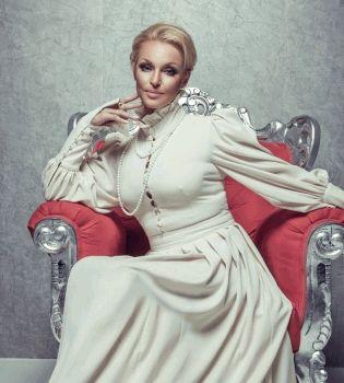 Анастасия Волочкова,платье,Ульяна Сергеенко