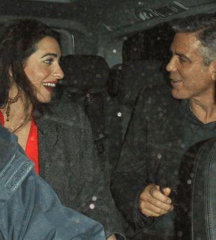 Джордж Клуни,свадьба,помолвка,вечеринка,невеста,жена,фото