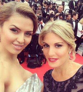 Каннский кинофестиваль 2014,Виктория Боня,фото,платье,красная дорожка