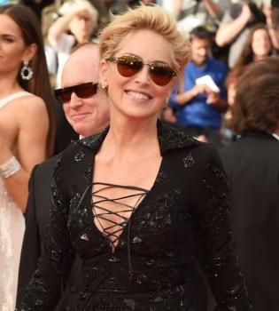 Шэрон Стоун,Каннский кинофестиваль 2014,платье,фото
