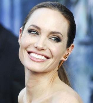 Анджелина Джоли,крупным планом,лицо,фото,Малефисента