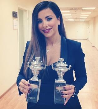 Ани Лорак,в Москве,премия RU.TV,награда,фото,Россия