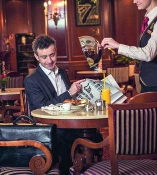 Премьер Палас,континентальный завтрак,лобби бар