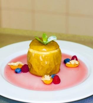 яблоко,мед,рецепт,десерт