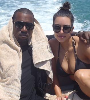 Ким Кардашьян,фото,особняк,вилла,отдых,Кэни Уэст,медовый месяц
