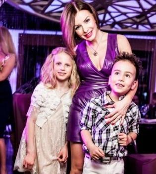 Юлия Волкова,дети,фото,Самир,Виктория,дочь,сын