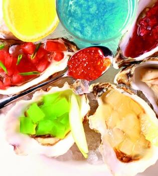 устрицы,морепродукты,рецепт
