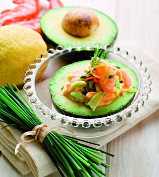 креветки,авокадо,рецепт,морепродукты