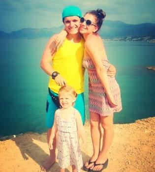 Анатолий Анатолич,с женой,дочери,отдых,Крит,Греция,фото,семья
