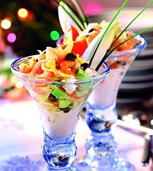 рецепт салата,салат,морепродукты,рецепт