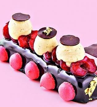десерт,вишня,рецепт,шоколад