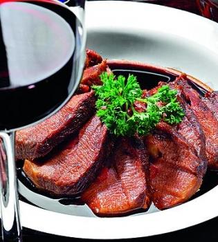 телятина,вино,рецепт
