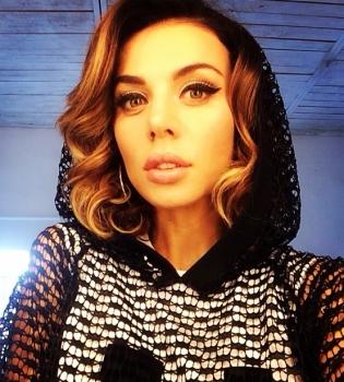 Анна Седокова,фигура,фото,Instagram,обнаженная,платье,прозрачное платье