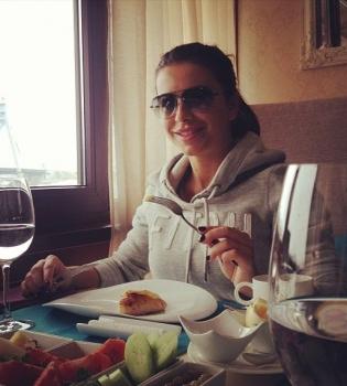 Ани Лорак,муж,ресторан,фото,Инстаграм
