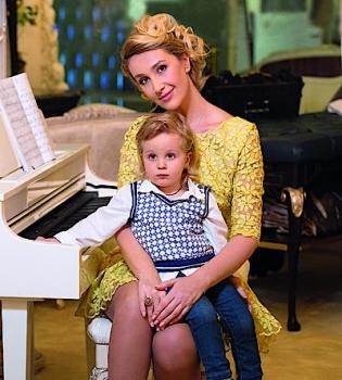 Снежана Егорова,развод,муж,интервью,дети,журнал Viva,фото