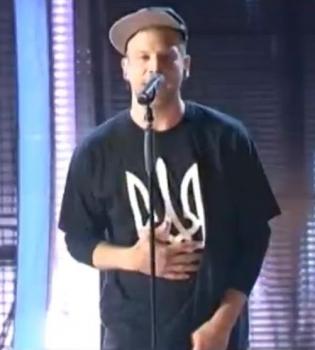 Иван Дорн,Новая волна 2014,герб Украины,футболка,танець пінгвіна,фото,видео