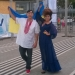 Потап,Настя Каменких,Новая волна 2014,фото,флаг Украины,вышиванка,Потап и Настя,скандал
