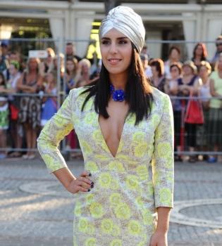 Джамала,Новая волна 2014,платье,фото