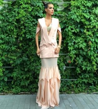 Кети Топурия,стиль,фото,платье,дизайнер,Новая волна 2014,Юрмала
