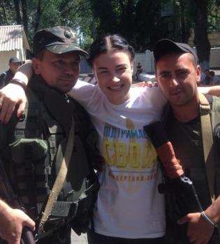 Анастасия Приходько,Иосиф Пригожин,скандал,Украина