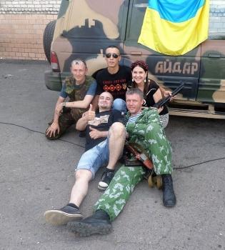 Анжелика Рудницкая,война,Луганская область,концерт,фото