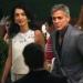 Джордж Клуни,Амаль Аламуддин,фото,свадьба,вместе,влюбленные,поцелуй,Италия