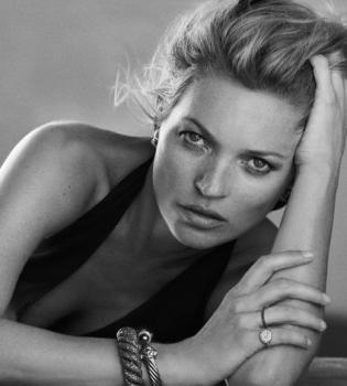 Кейт Мосс,крупным планом,фото,фотосессия,реклама,украшения,David Yurman