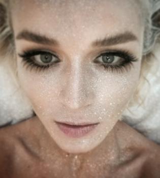 Полина Гагарина,без макияжа,фото,блог,Инстаграм
