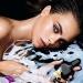 Кара Делевинь,обнаженная,фотосессия,голая,реклама,фото,Tom Ford,Black Orchid,Черная орхидея