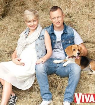 Наташа Гордиенко,беременна,фото,муж,журнал Viva,интервью