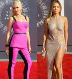 MTV Video Music Awards,2014,фото,платья,звезды,наряды,Ким Кардашьян,Бейонсе,Нина Добрев,Дженнифер Лопес