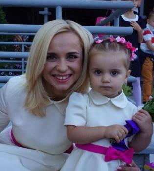 Лилия Ребрик,дочь,фото,день рождения,Танцюють всі 7