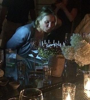 Камерон Диаз,день рождения,фото,вечеринка,Гвинет Пэлтроу,Дрю Берримор,Instagram