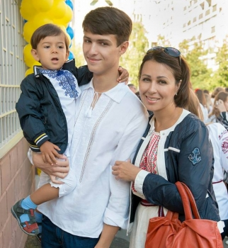 Наталья Мосейчук,фото,семья,дети,сын