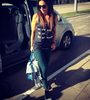 Ани Лорак,Ice Bucket Challenge,флешмоб,благотворительность,облилась водой