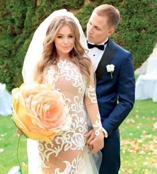 Яна Соломко,свадьба,вышла замуж,муж,фото,интервью,журнал Viva