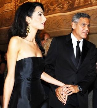 Джордж Клуни,невеста,жена,свадьба,Амаль Аламуддин,фото