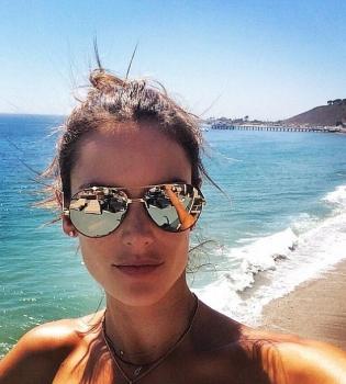 Алессандра Амбросио,селфи,фото,Instagram