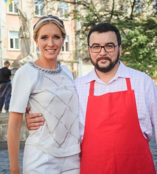 Руслан Сеничкин,книга,фото,Львов,кулинария