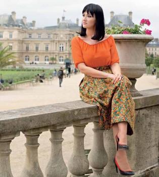 Соломия Витвицкая,Париж,viva,Мария Бурмака,фотосессия