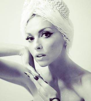 Оля Полякова,макияж,лицо,фото,Instagram