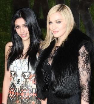 Мадонна,дочь,Лурдес Леон,день рождения,детские фото,эксклюзивные фото,семейный альбом,Семейный архив