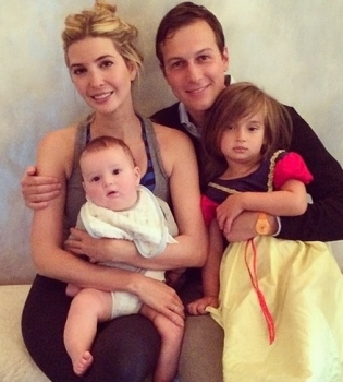 Иванка Трамп,фото,семья,дочь,сын,муж,Instagram