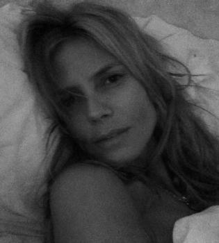 Хайди Клум,без макияжа,Instagram,фото,естественная красота